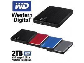 WD My Passport Ultra 2TB Portable External Hard Drive