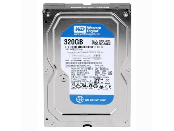 WD 320GB Internal Hard Drive