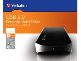 External Hard Drive USB 2.0 1TB