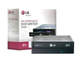LG 24X SATA None Lightscribe DVD Writer