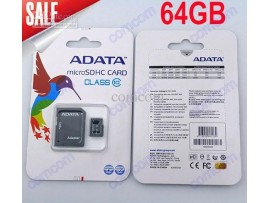 Adata 64GB Micro SD Card with Adapter