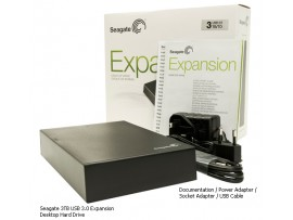 Seagate Expansion 3TB USB3.0 Desktop Drive