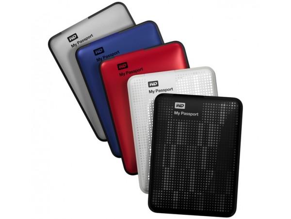 "WD Portable 2.5"" 1TB External Hard Drive"