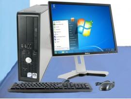 Dell Desktop PC 2gb ram 17Inch Monitor AntiVirus Office Window 7