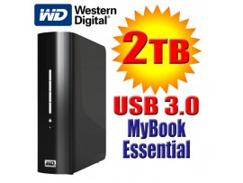 WD My Book Essential 2TB 3.5 USB 3 External Hard Drive