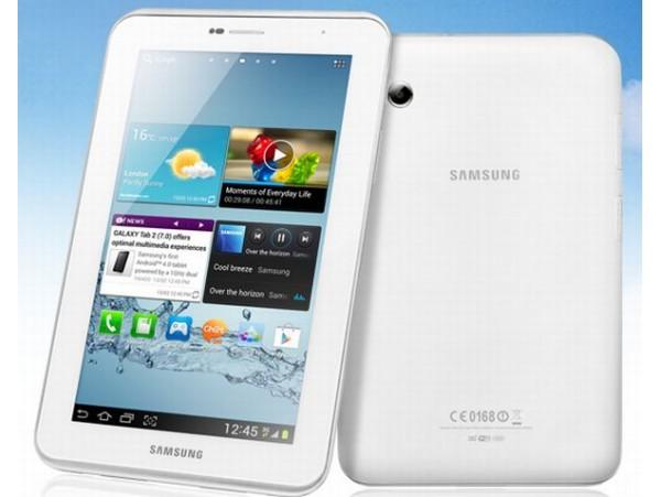 """Samsung Galaxy Tab 2 7.0"""" 8GB Tablet With WiFi"""