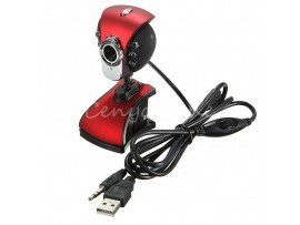 SANOXY® USB 6 LED PC Webcam Camera